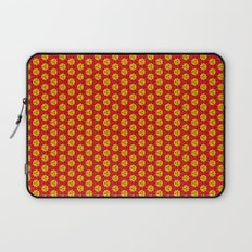 red and yellow Laptop Sleeve
