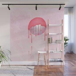 Bubblegum Melt Wall Mural