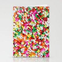 sprinkles Stationery Cards featuring Sprinkles by Beastie Toyz