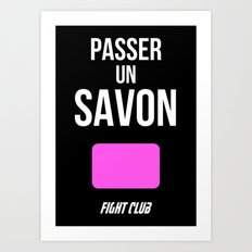 FightClub Art Print