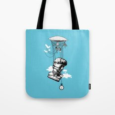 The Skies Are Full Of Strange Things Tote Bag