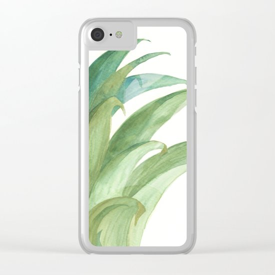 Botanical vibes 03 Clear iPhone Case