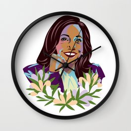 Madam Vice President for the People Wall Clock