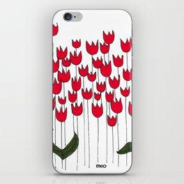 Tulipomania #24 iPhone Skin