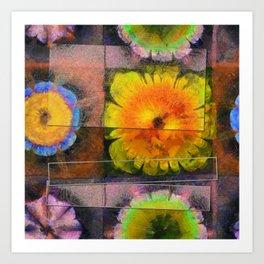 Prehepaticus Framework Flower  ID:16165-082221-45091 Art Print