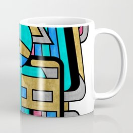 Scarabesque - Digital Art Deco Design Coffee Mug