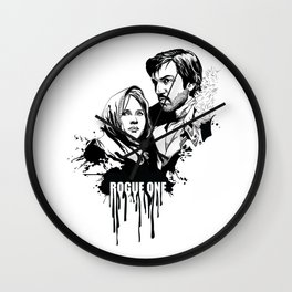 Fandom In Ink » Rogue One Wall Clock