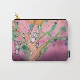 Digital Leaves Carry-All Pouch