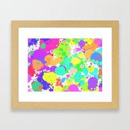 Splattt Framed Art Print