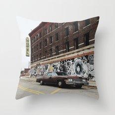 Hotel Roosevelt - Detroit, MI Throw Pillow