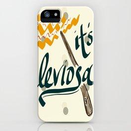 It's Leviosa Magic Wand Design iPhone Case