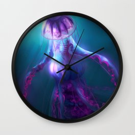 Jellyfish Creature Wall Clock