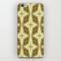 coasters iPhone & iPod Skins featuring Abstract Gold Pattern by Lena Photo Art