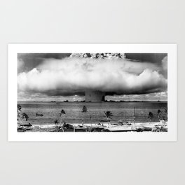 Operation Crossroads: Baker Explosion Art Print