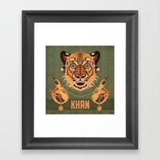 Shere Khan Framed Art Print