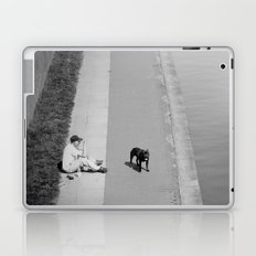 way out in the water... Laptop & iPad Skin