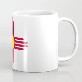 New Mexico Flag Symbol Patriotic Red Sun Coffee Mug