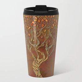 Fantasy Fall Tree Metal Travel Mug