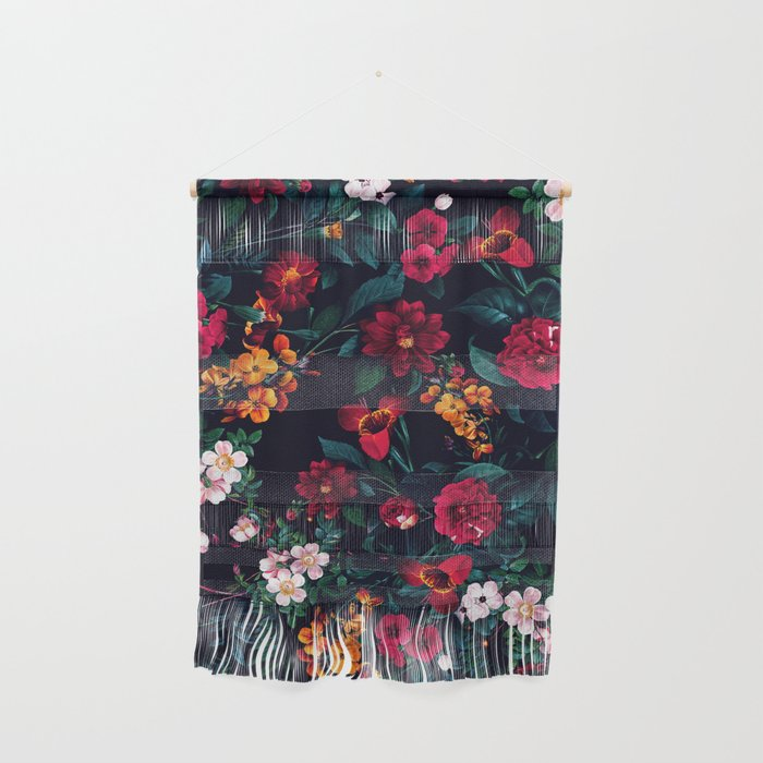 The Midnight Garden Wall Hanging