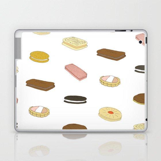 biscui - biscuit pattern Laptop & iPad Skin