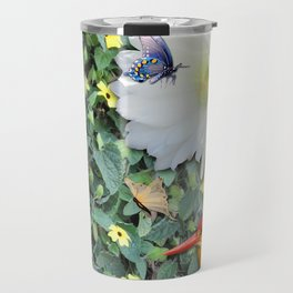 Cactus Flower Meeting Travel Mug