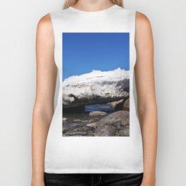 Iceberg on the Rocks Biker Tank