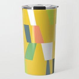 Modern Geometric 39 Travel Mug