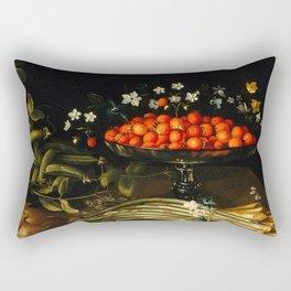 Still life from the 17th century Rectangular Pillow