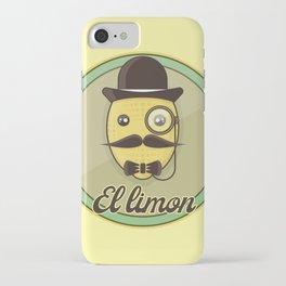El Limon - casual hypster lemon iPhone Case