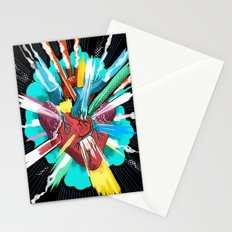 I love you thiiiiis much Stationery Cards