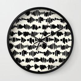 Tribal Song Wall Clock