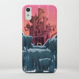 Hollow Bastion (Kingdom Hearts) Travel Poster iPhone Case