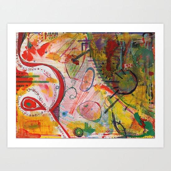 Scan #18 Art Print