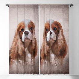 Dog breed Cavalier King Charles Spaniel Blackout Curtain