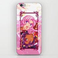 utena iPhone & iPod Skins featuring Utena La Filette Révolutionnaire by Neo Crystal Tokyo