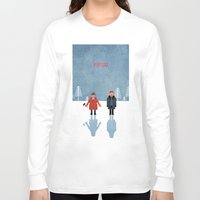 fargo Long Sleeve T-shirts featuring Fargo by laurxy