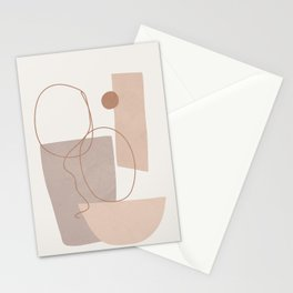 Abstract Shapes No.21 Stationery Cards