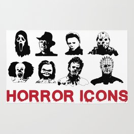 hORROR iCONS Rug