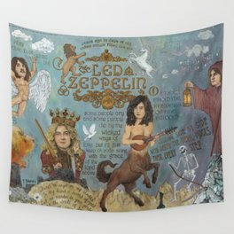 Zeppelin - In Days Of Old When Magic Filled The Air Wall Tapestry