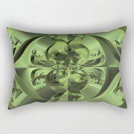 Cool Green of Summer Rectangular Pillow