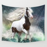 gypsy Wall Tapestries featuring Gypsy Wild by Trudi Simmonds