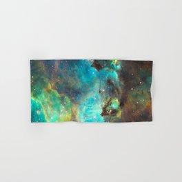 Green Galaxy Hand & Bath Towel