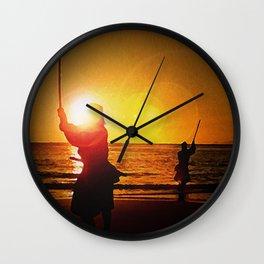 Duel at Ganryu Island - Miyamoto Musashi Wall Clock
