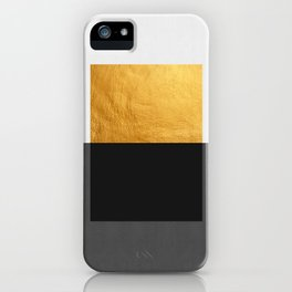 Conceptual and golden iPhone Case
