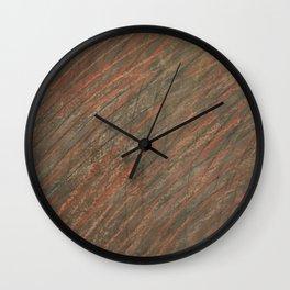 Hatch Texture 1 Wall Clock