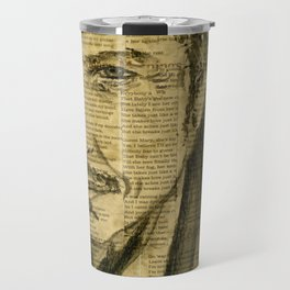 Dylan, the Poet Travel Mug