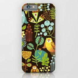 5BF1 Scandinavian Birds iPhone Case