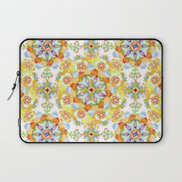 Flower Garden Mandala Laptop Sleeve
