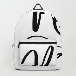 Cursive KD Backpack