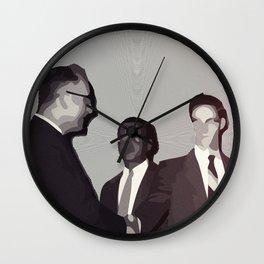 techCLR eyes Wall Clock